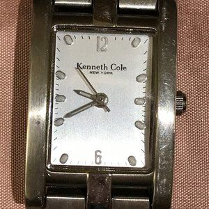 Kenneth Cole stainless link watch
